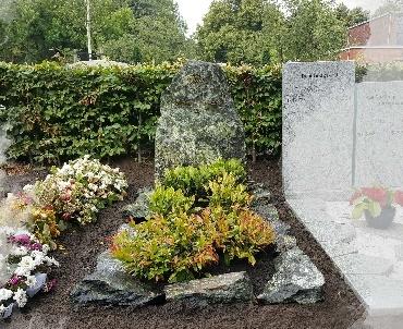 Grafmonument met schervenrand te Utrecht