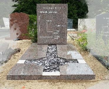 Grafsteen speciaal model