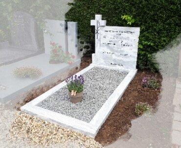 begraafplaats cabauw opknappen bestaand marmeren grafmonument