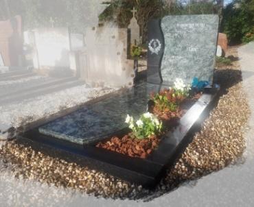 Grafsteen begraafplaats Maarssen rk gedeelte