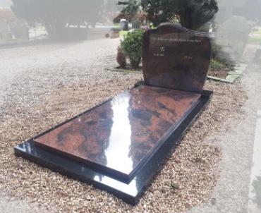 grafsteen Wijk bij Duurstede Indian aurora