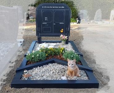 grafsteen de Meern protestante begraafplaats