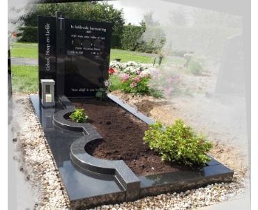 grafsteen graniet speciale vormen