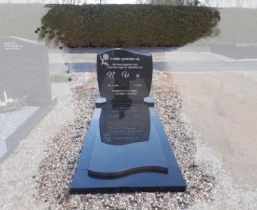 grafsteen Impala graniet te Benschop