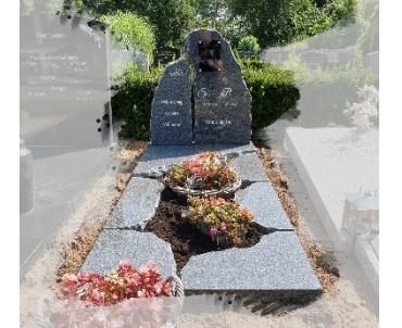 grafsteen met speelse indeling 2