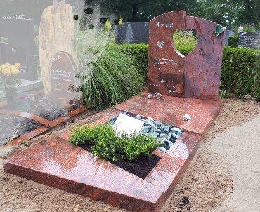 grafsteen romantica graniet. polijsten en zoeten