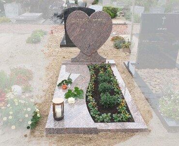 grafsteen rosa dalva graniet