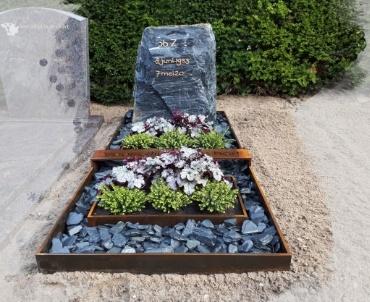 grafsteen waarder corten staal