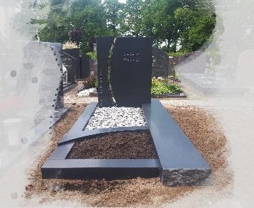 grafsteen zwart gezoet oudewater
