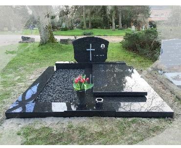 Grafsteen voor op Dubbelgraf Amsterdam