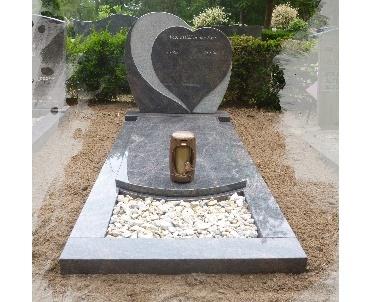 Grafsteen Hartmodel met