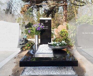 rotterdam begraafplaats crooswijk rvs en zwart graniet