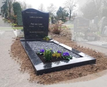 Grafsteen Steal grey Nieuwegein