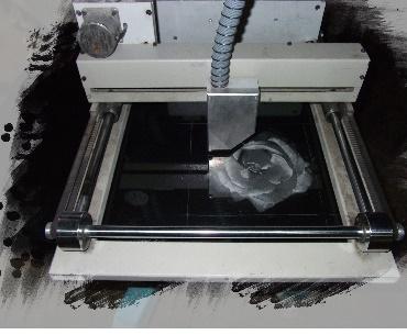 Lasergravure in de maak