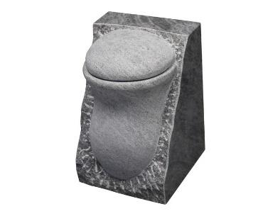 Urn van graniet