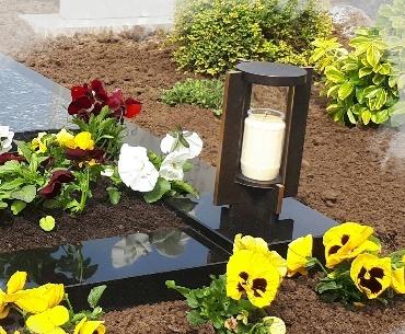 Bronzen lantaarn voor een 3 dagen kaars