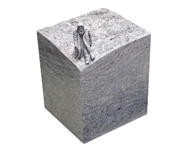 Handgemaakte granieten urn