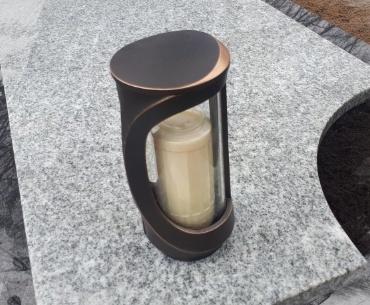 bronzen lantaarn