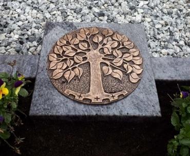 bronzen levensboom