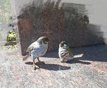 bronzen vogeltjes musjes
