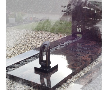 grafstenen Lantaarn voor de 7 dagen kaars