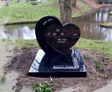 grafsteen algemeen hartvorm