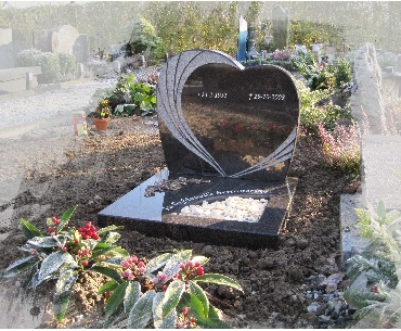 Urnengraf in hartmodel