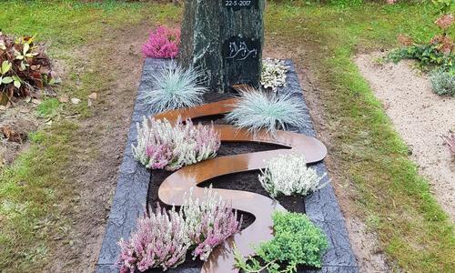 grafsteen corte staal levensweg