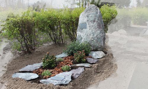 Grafsteen ruw uit de natuur